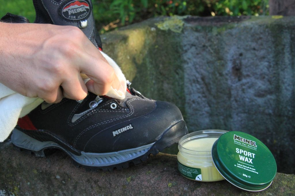 MEINDL SPORT WAX Beeswax Polish /& waterproofer for walking boots and shoes